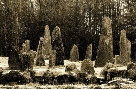 Image of Viking graveyard Viking warriors