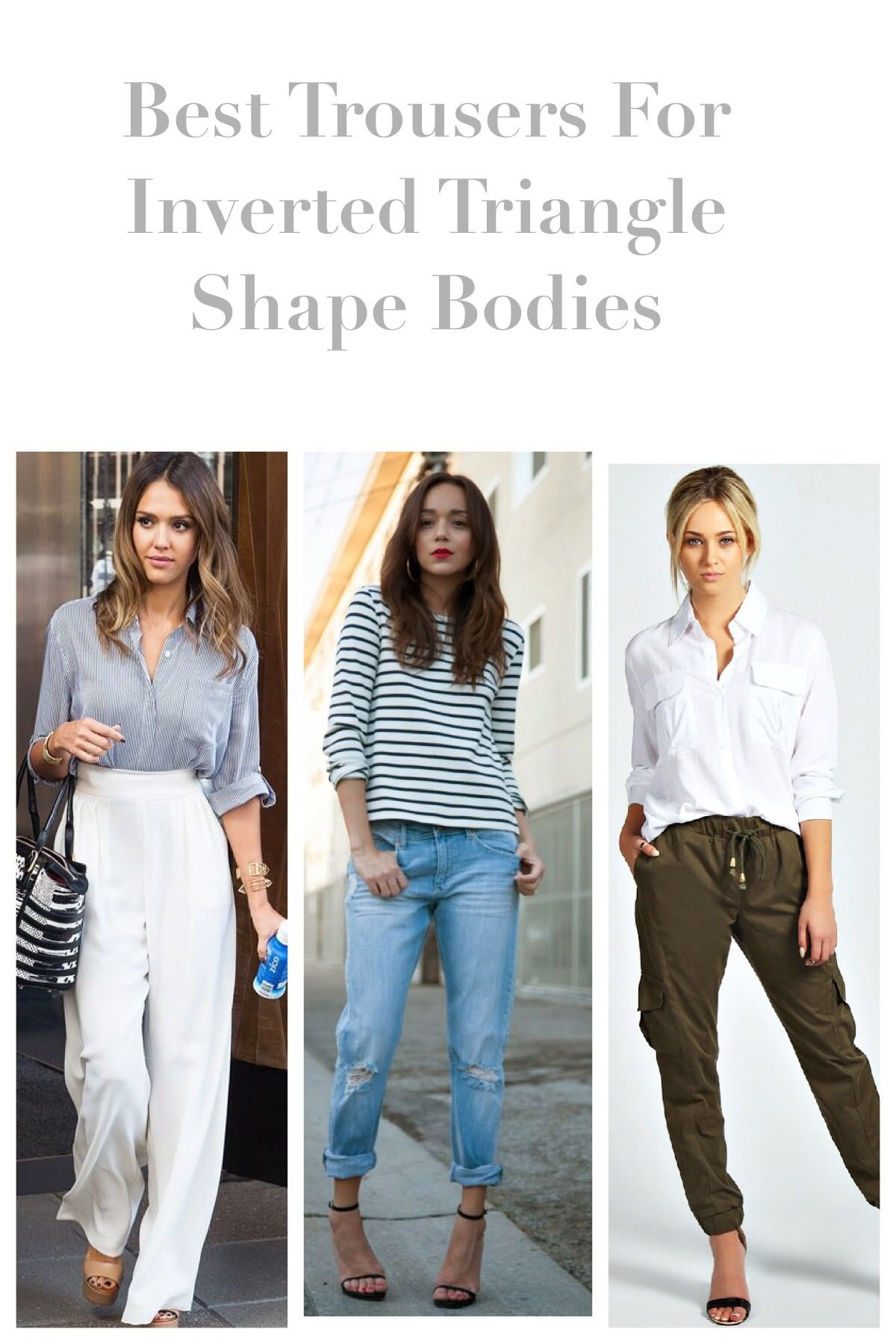 Body Shape  Triangle body shape, Inverted triangle body shape