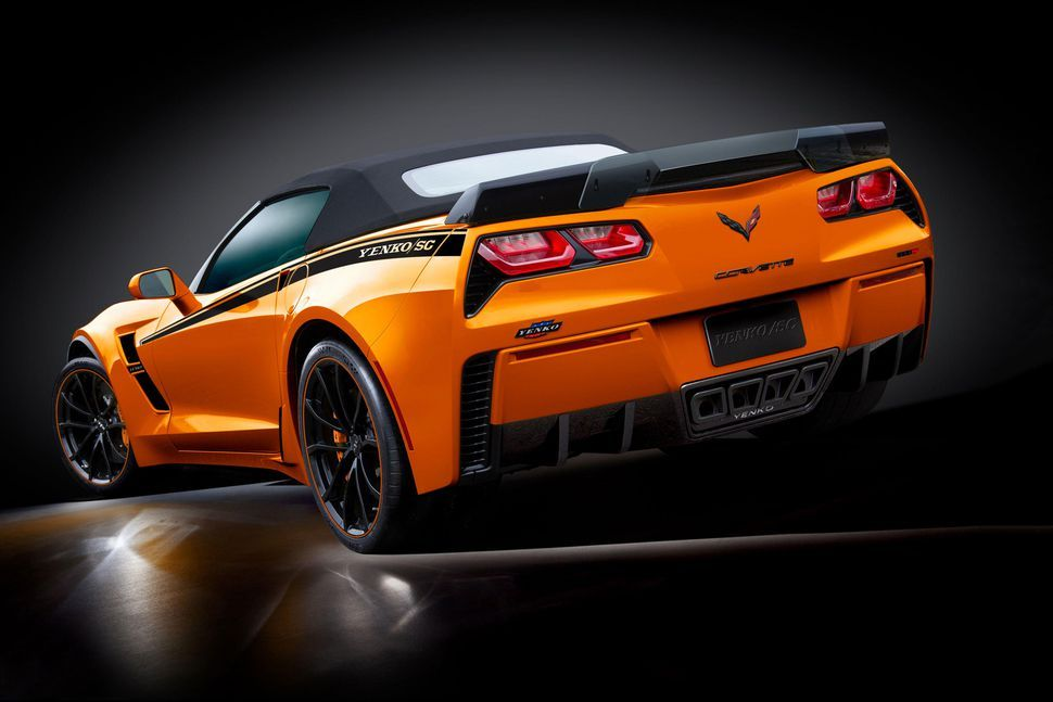 You can now buy a 1,000horsepower Corvette from your