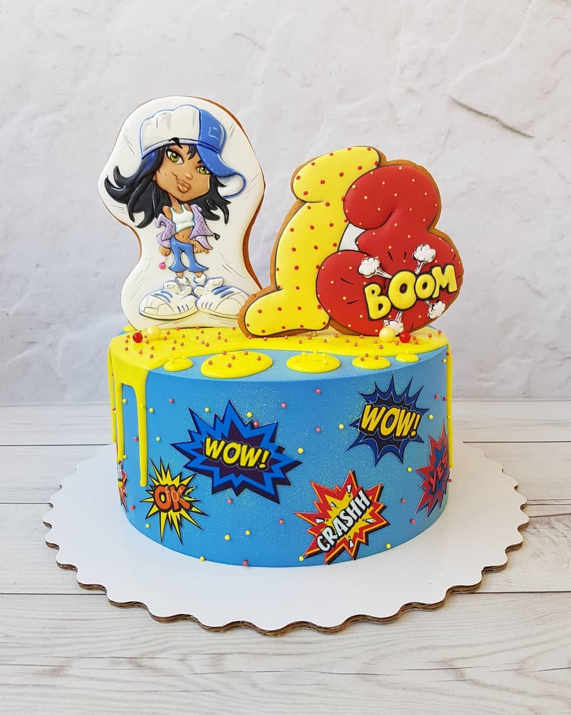 Картинки в стиле поп-арт для торта, мотивация успех