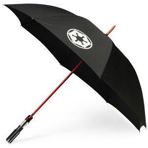 Lightsaber umbrella...need one!