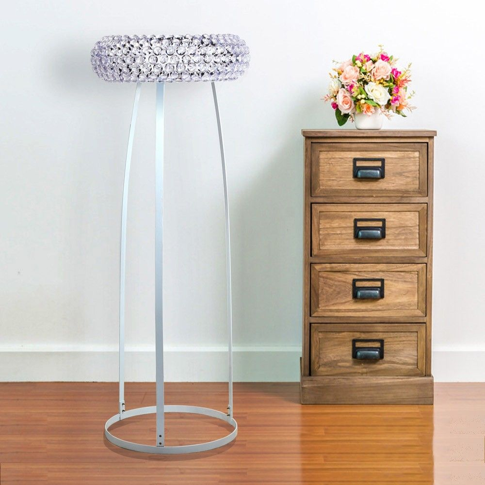 Charming chic beaded floor lamp adds a fascinating factor to you home