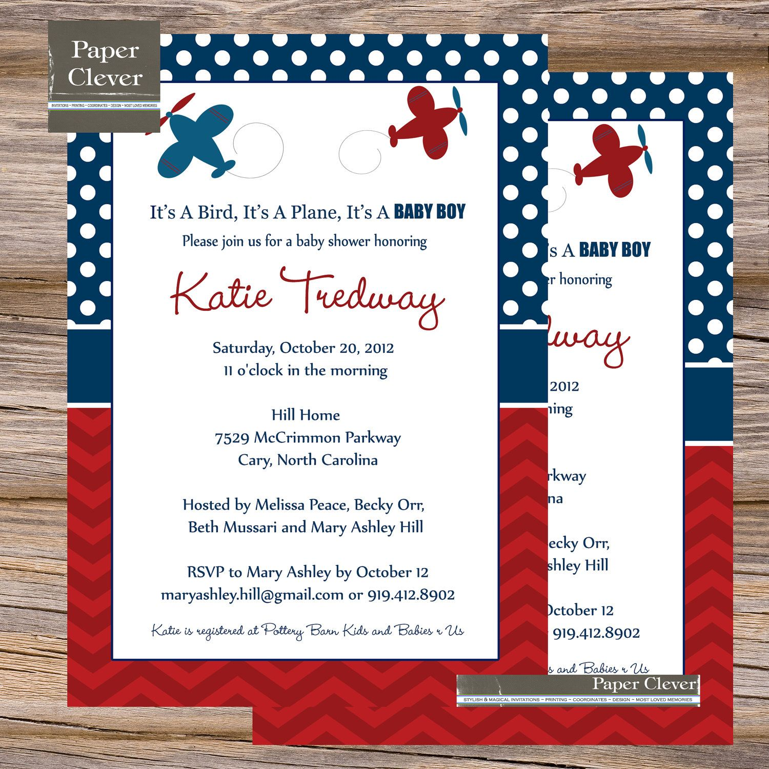 Formal Baby Shower Invitations John Deere Theme label Baby Boy ...