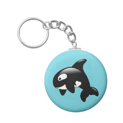 Orca Keyring Birthday Gift Killer Whale