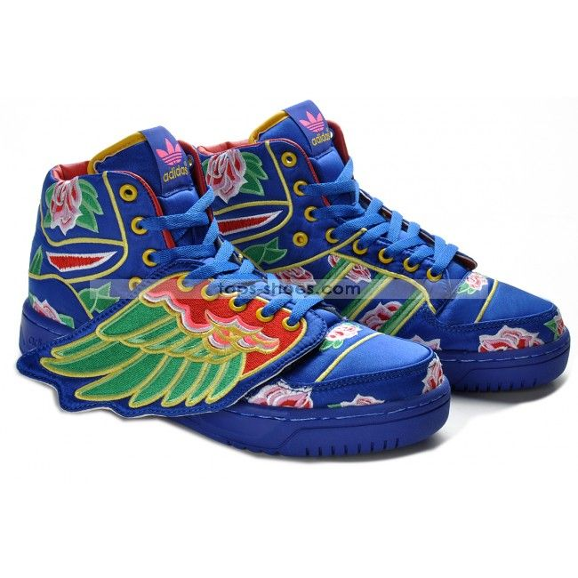 Mens Adidas Originals Jeremy Scott Wings Cny Trainers [Womens Nike Free Run  3 - : all Adidas price