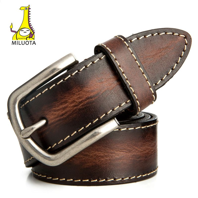 Luxury Classic Pin Buckle Leather Belt For Men