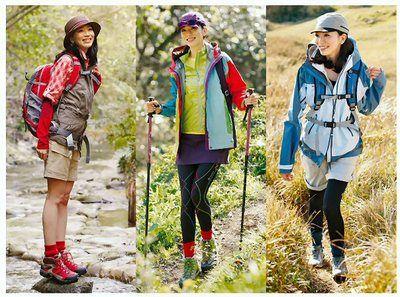 レディース 登山 服装