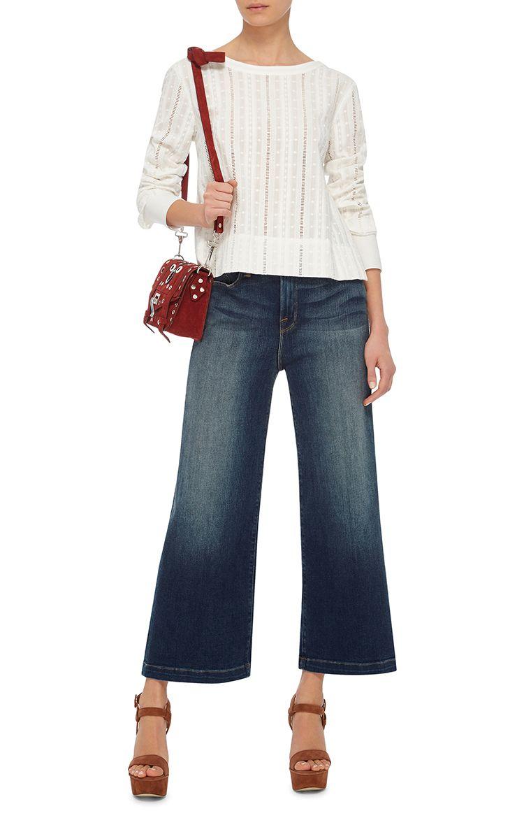 Frame Denim Le Capri Cropped Jeans
