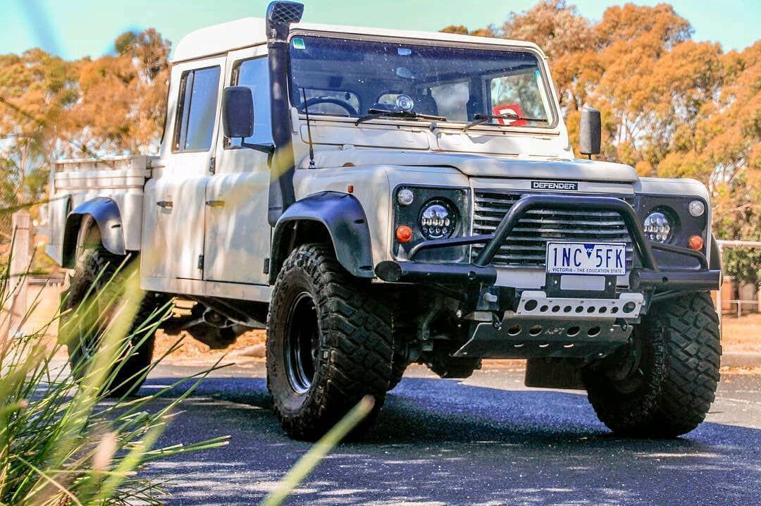 The Defender Of Australia Defender130 Aus Follow Us Dailyoverland Landrover Land Rover Land Rover Defender 130 Defender 130