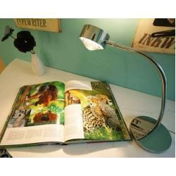 Photo of Top Light Puk Flexlight Table table lamp matt nickel lens matt / glass matt standard version Top Li