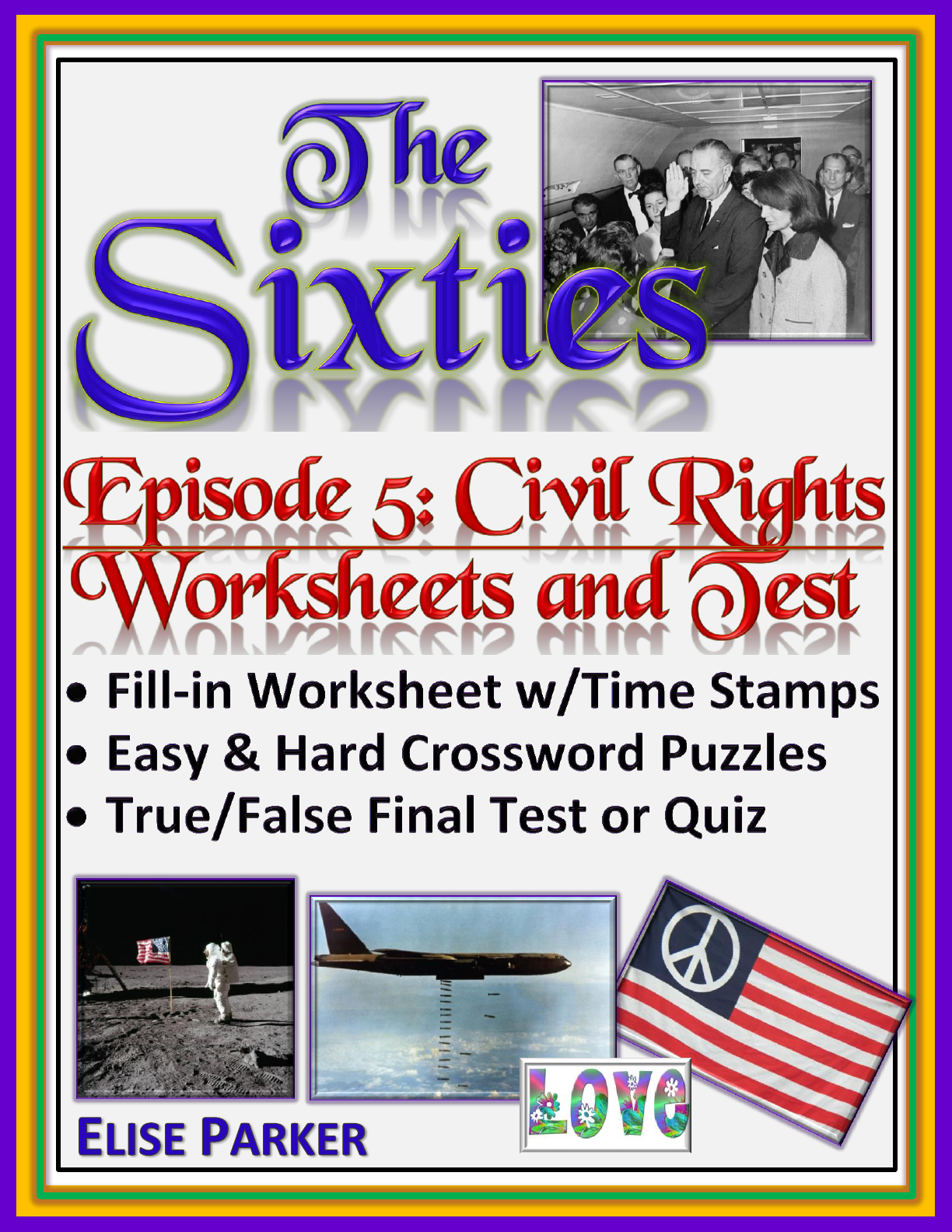 The Sixties Episode 5 Worksheets Puzzles And Test