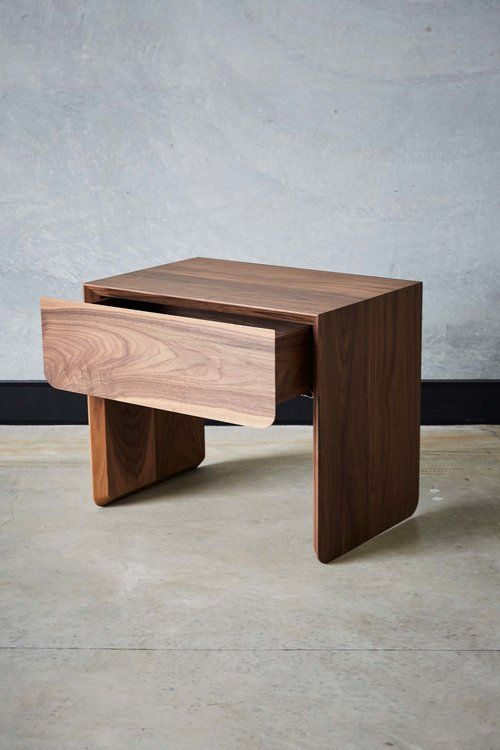 Tacey Bedside Table — Mast Furniture – Brisbane designed and made.
