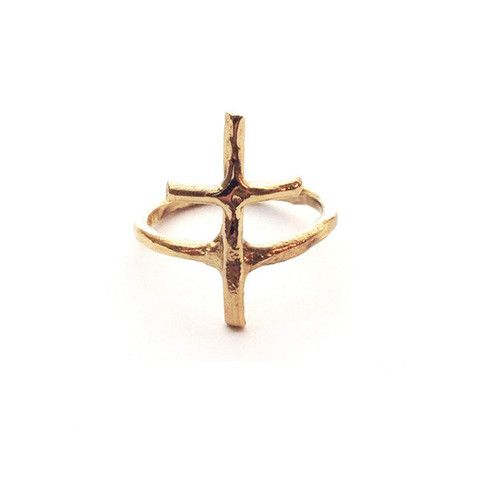 Palmistry Cross Ring by Species by the Thousands