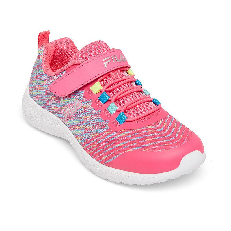 Fila Overfuel 2.5 Girls Running Shoes Hook and Loop in 2019