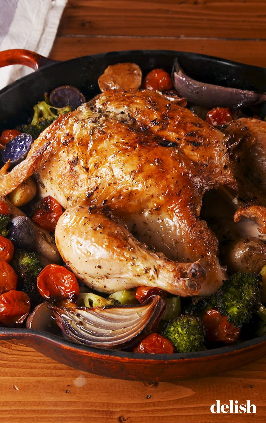 Image result for Tuscan Butter Roast Chicken recipe