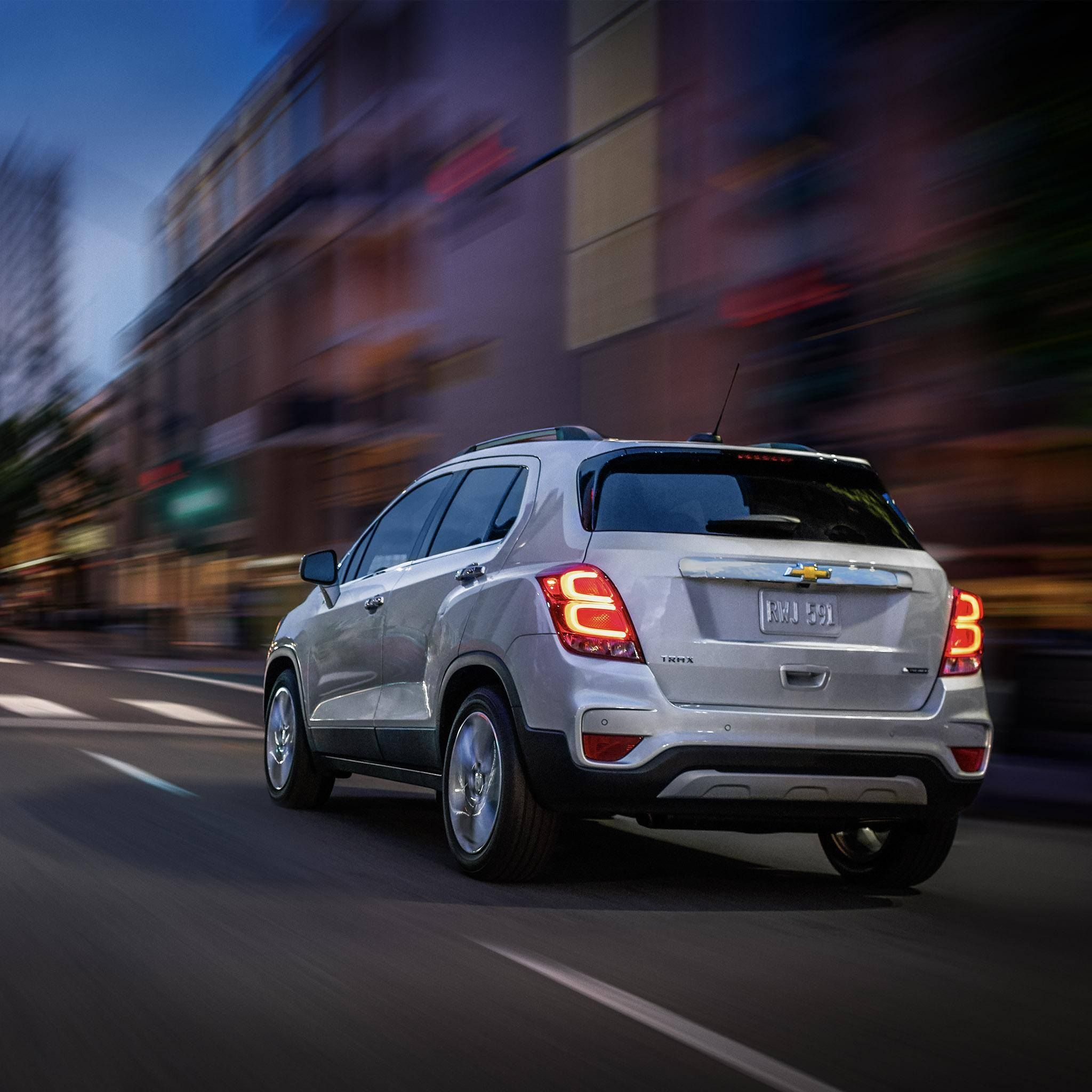 Take to the streets with a NEW Chevy Trax at Chevrolet Cadillac of