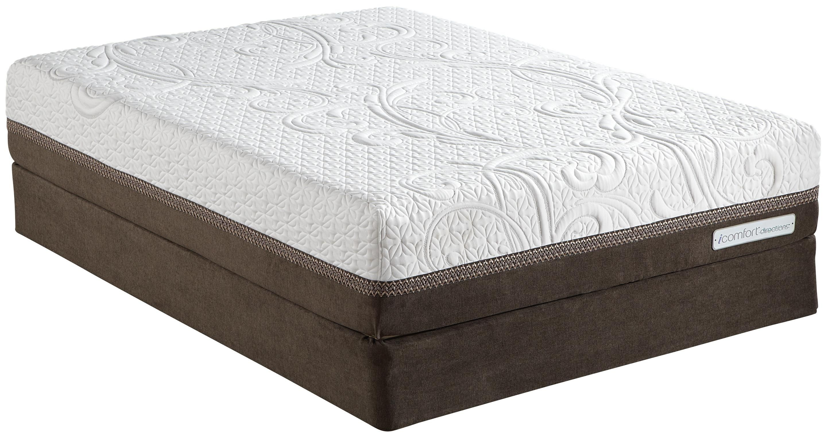 Icomfort Directions Acumen Queen Memory Foam Mattress By Serta Mattress Firm Memory Foam Mattress Serta Mattress