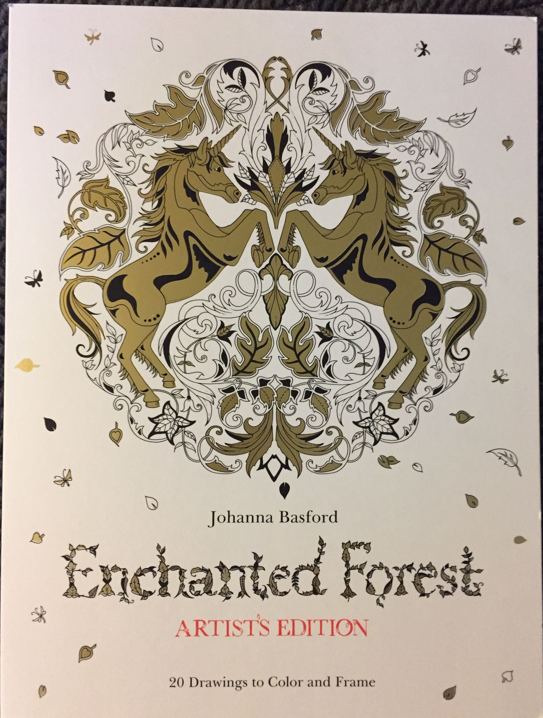 Pin By Cala Brandt On Coloring Is Good Therapy Enchanted Forest Coloring Coloring Books Forest Coloring Book