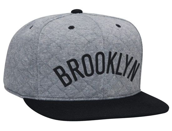 Baseball cap · Brooklyn Quilted High Crown Fitted Cap by MITCHELL & NESS