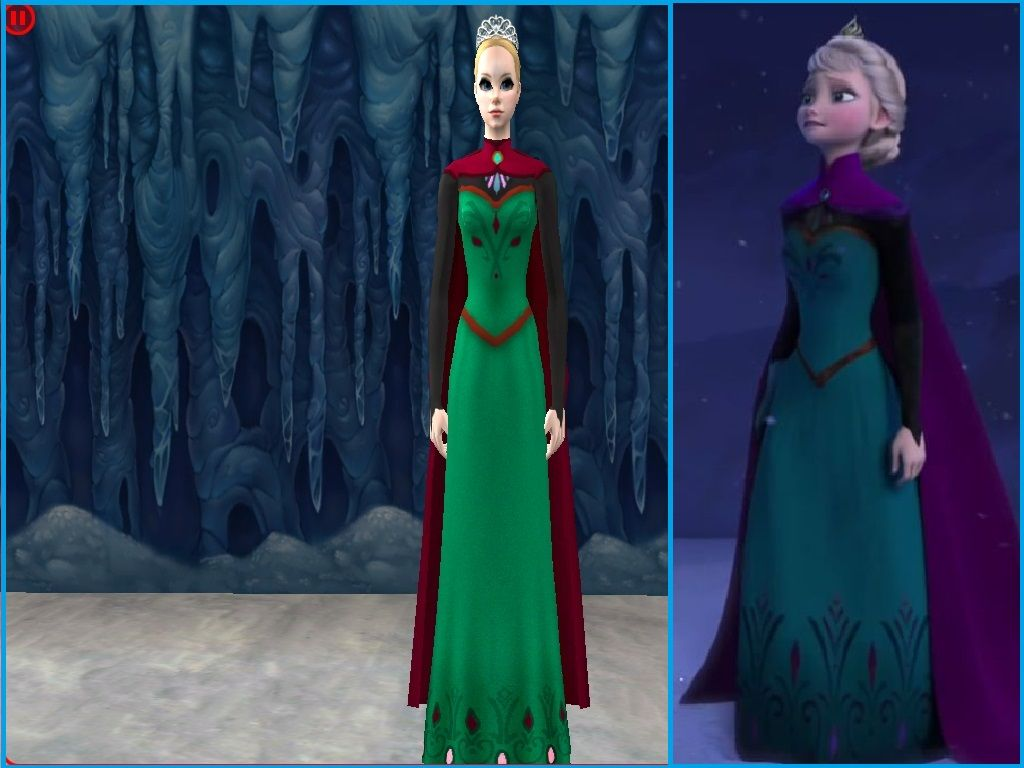 The dress from frozen - Mod The Sims Elsa S Coronation Dress Disney S Frozen