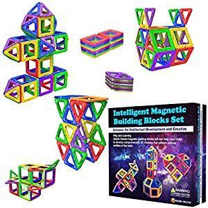 desire deluxe magnetische bausteine magnet spielzeug f r kinder 40pc set teilen ab 3 4 5 6 7 8. Black Bedroom Furniture Sets. Home Design Ideas