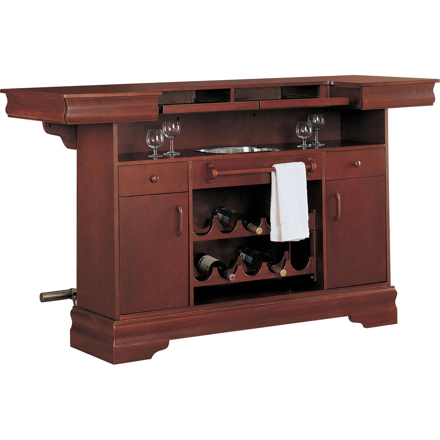 Superieur Coaster Furniture 3078 Lambert Traditional Bar Unit With Sink