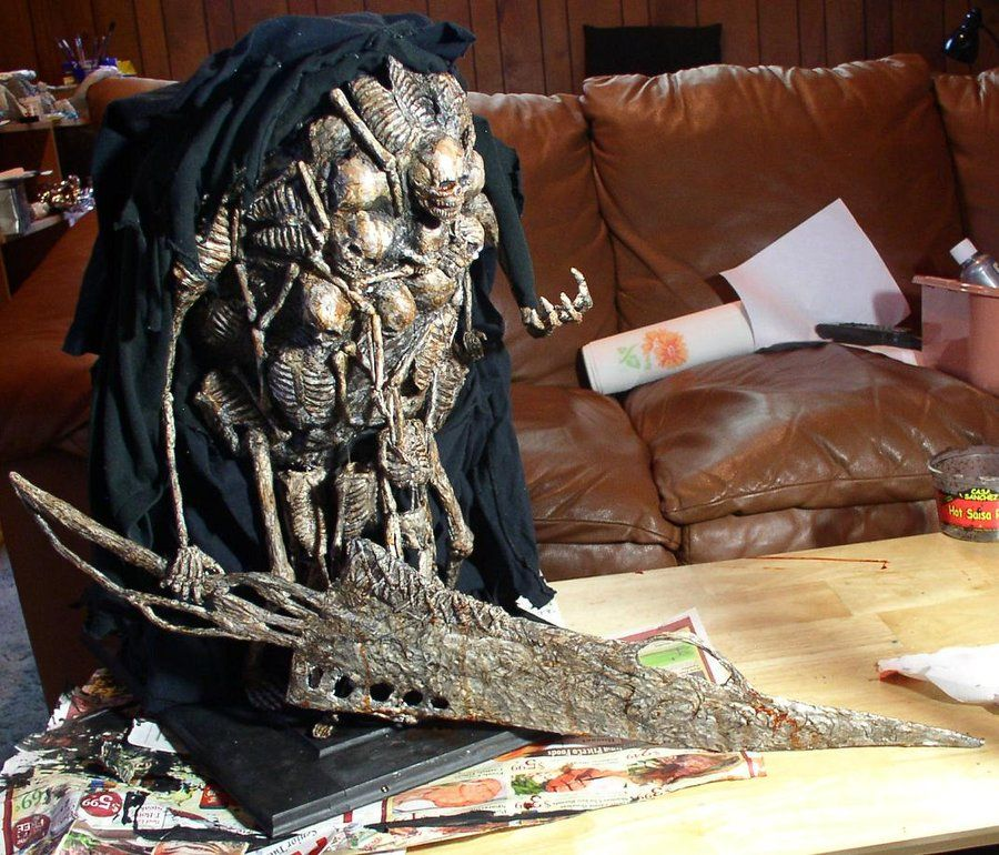 Dark Souls Gravelord Nito Sculpture View 2 By Futantshadow On Deviantart Dark Souls Fashion Souls Dark Souls Statue