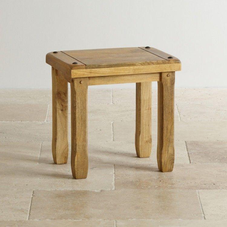 Super Baku Light Natural Solid Mango Dressing Table Stool Pabps2019 Chair Design Images Pabps2019Com