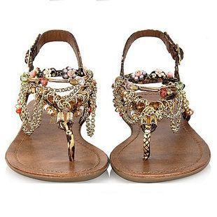 New Fashion Diamond bohemian Sandals Shoes ($35)