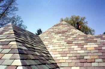 Multi Colored Roof Haus