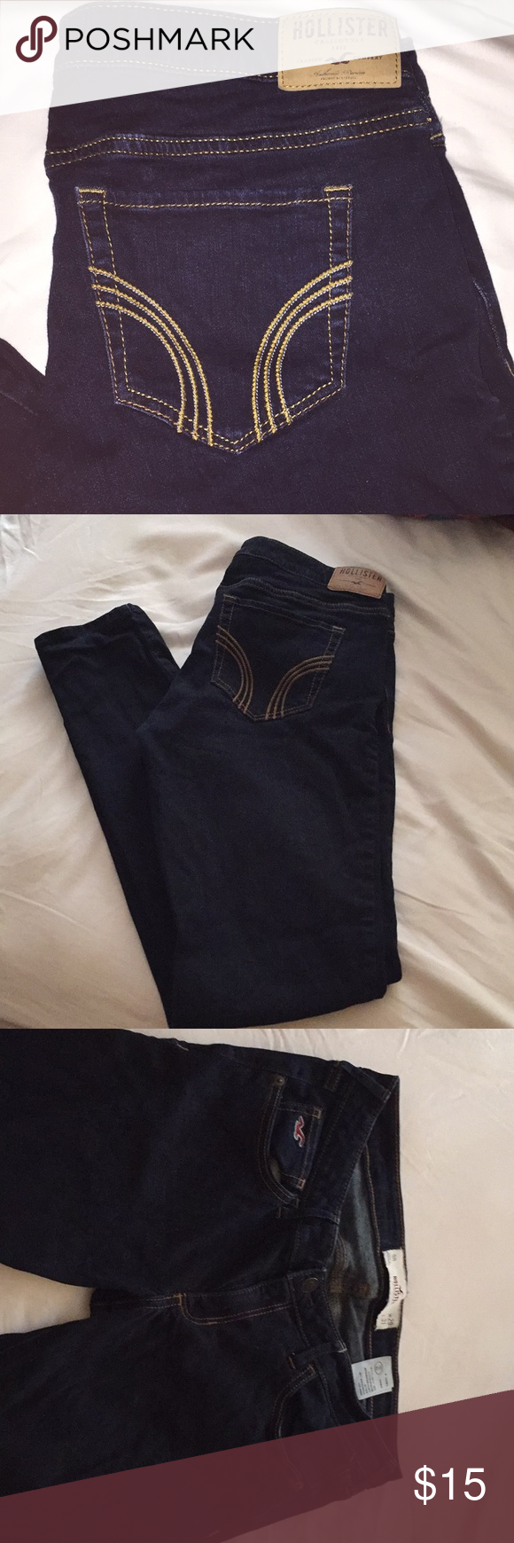 HOLLISTER jeans. 50% OFF any top that is bundled