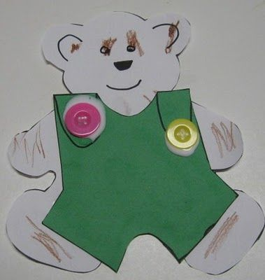 Corduroy Bear Craft Maybe Add A Pocket Too