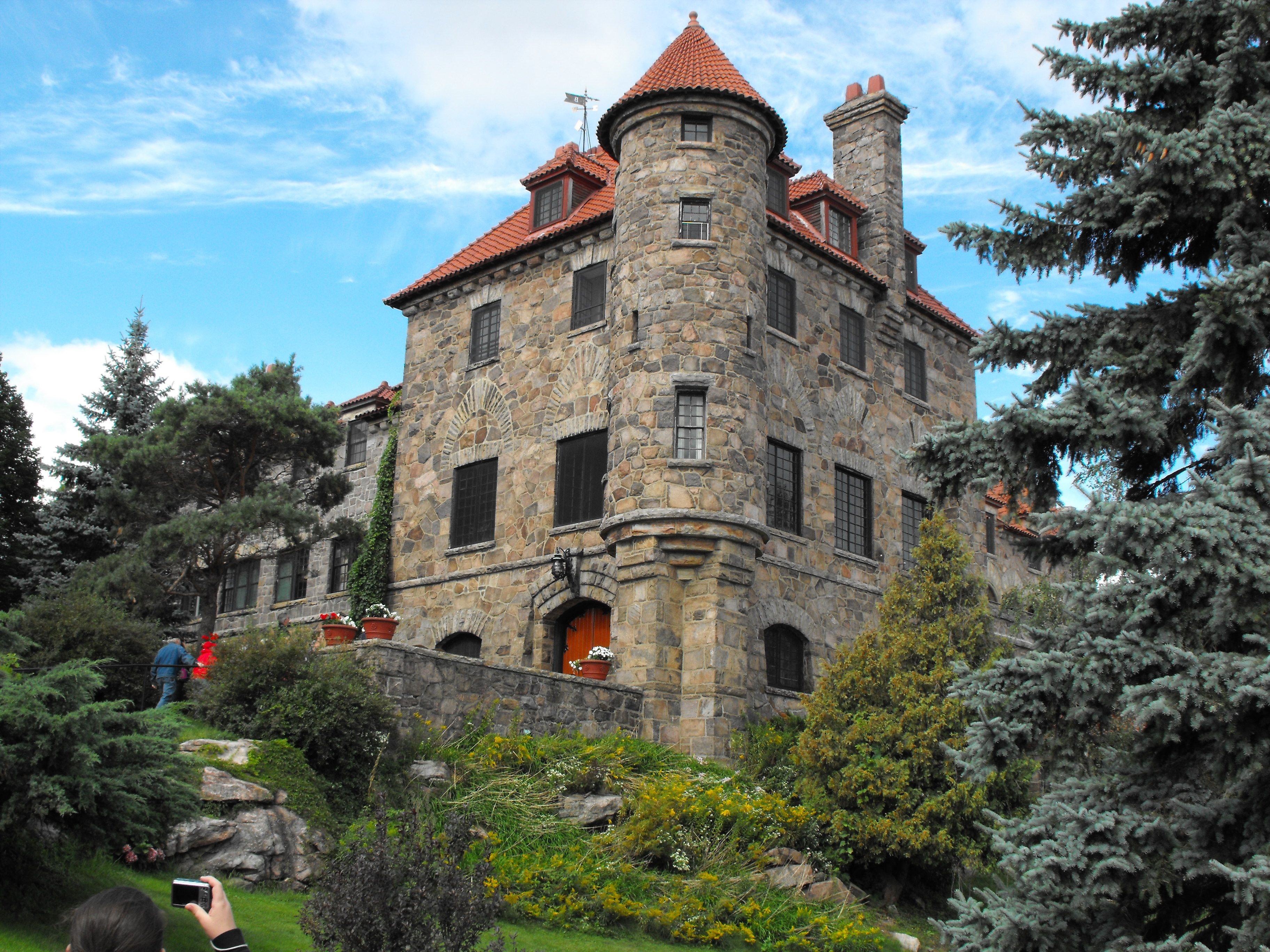 Singer Castle on Dark Island 1000 Islands New York