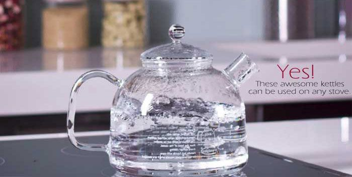 I Love Love These Awesome German Glass Stove Top Kettles I Use Mine Everyday Right On My Gas Stove To Boil Spring