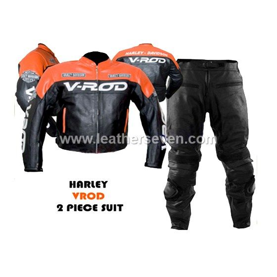 Harley Davidson V Rod Leather Motorcycle Biker Racing Suit Leather Motorcycle Jacket Bike Leathers Cheap Leather Jacket