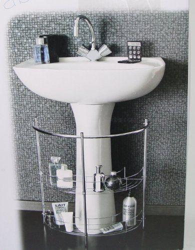 Accesorio para ba o mueble de ba o de 2 niveles para for Mueble debajo del lavabo