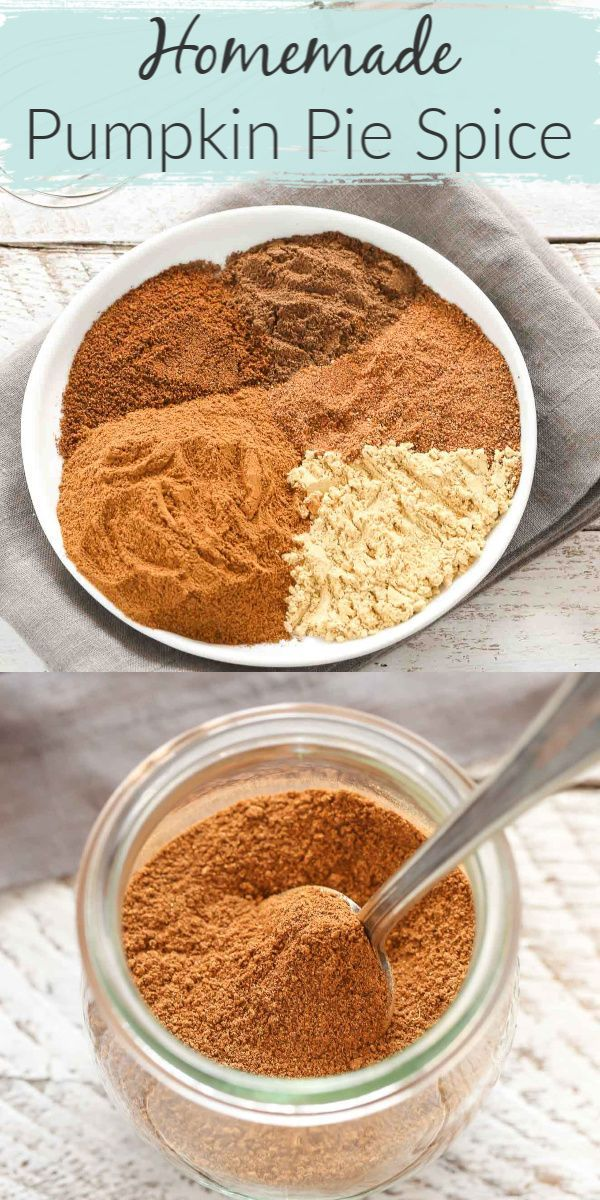 Homemade Pumpkin Pie Spice (plus different ways to use it!)