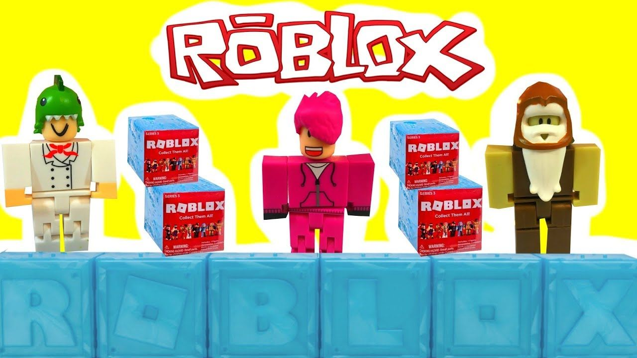 New Roblox Blue Blind Boxes Series 3 Opening Unboxing
