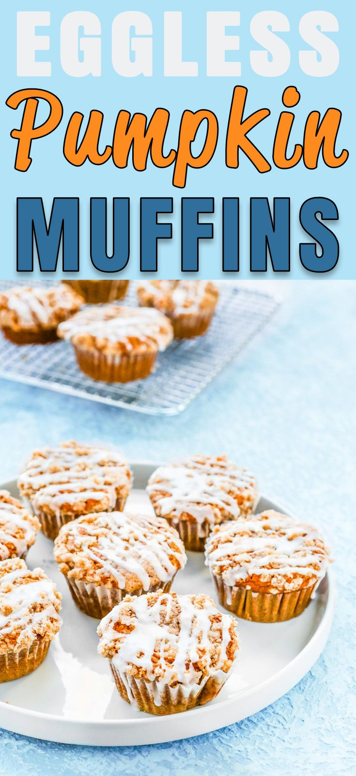 Eggless Pumpkin Muffins #pumpkinmuffins