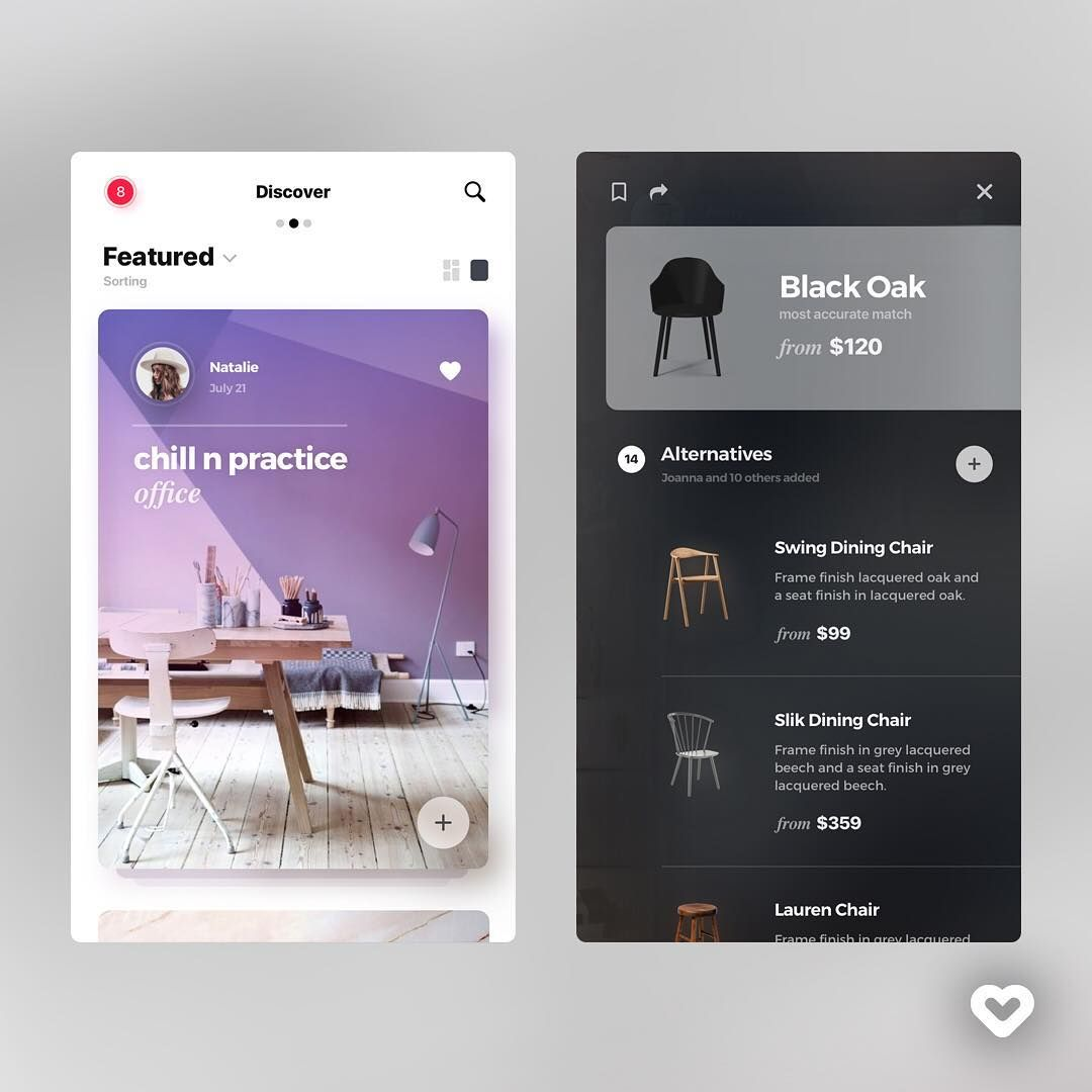 "1,319 curtidas, 4 comentários - Web Design Inspiration (UI/UX) (@welovewebdesign) no Instagram: ""by Wojciech Zieliński @acreno Follow us @welovewebdesign - Link: https://dribbble.com/shots/3552069…"""