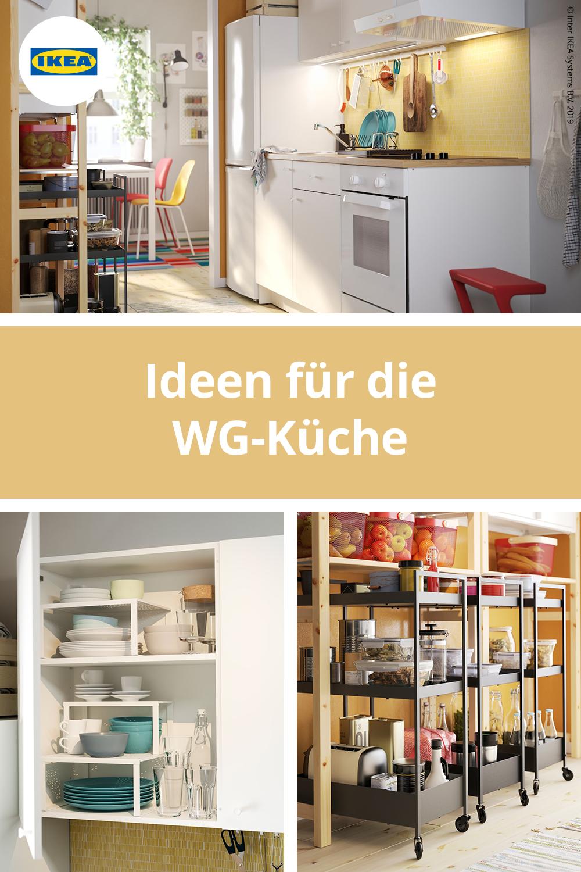 Bequeme Und Stilvolle Wg Kuche Kuche Ikea Ideen Kuche Einrichten