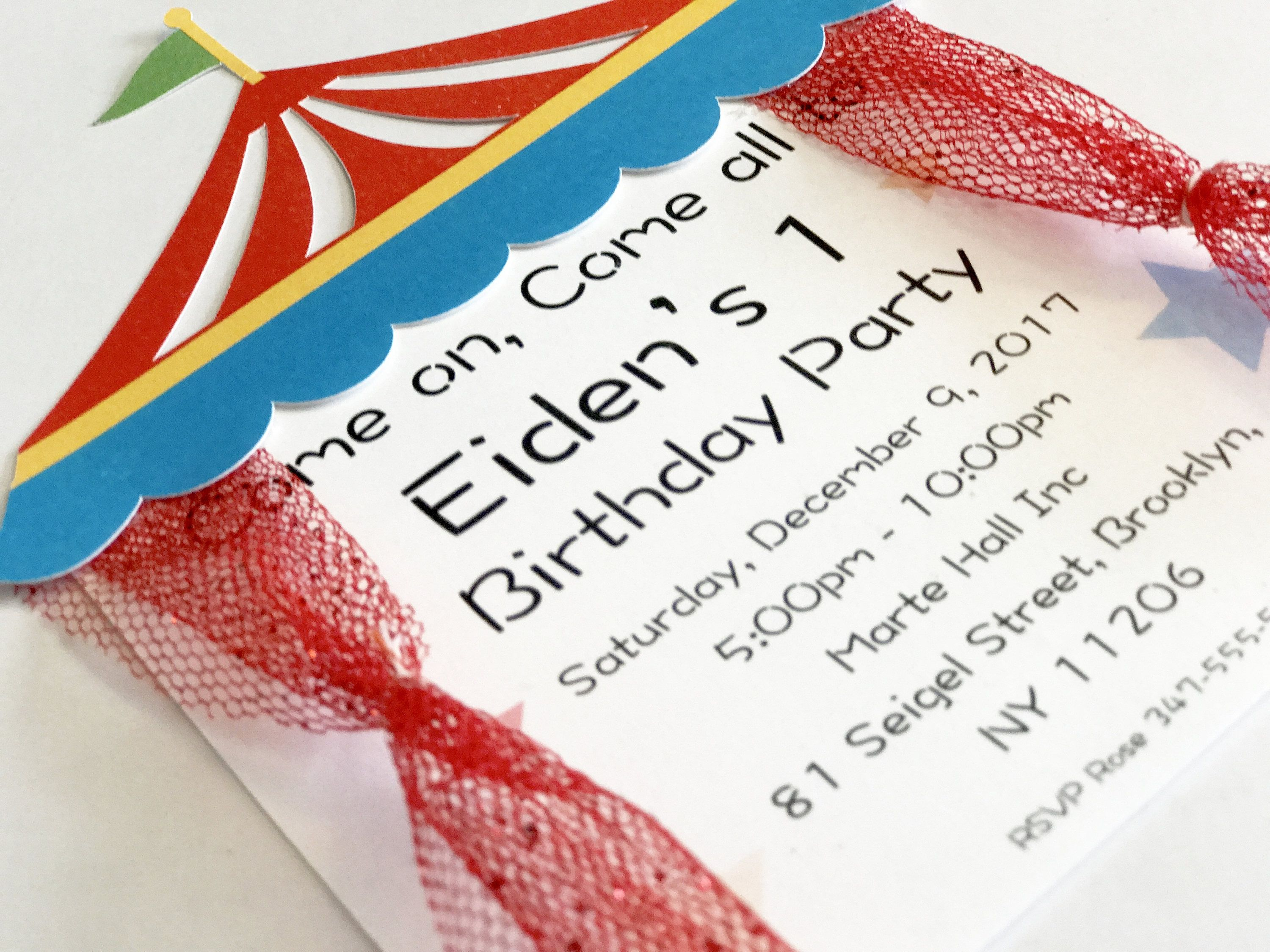 Circus Invitation | Carnival Invitation | Circus Themed Party ...