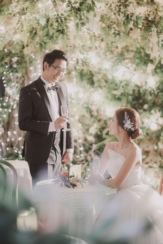 Wedding pre shooting dress