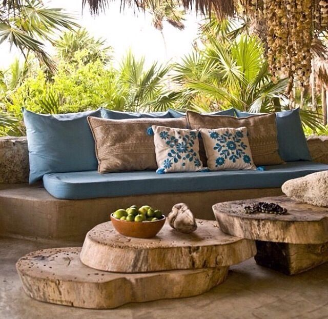 47 Beautiful Tropical Outdoor Decoration For Cozy Place #strandhuis