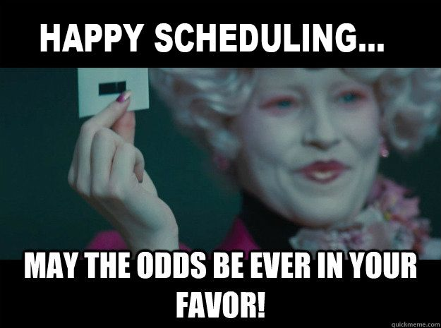 Initlive Will Make Scheduling A Breeze The Odds Will Always Be