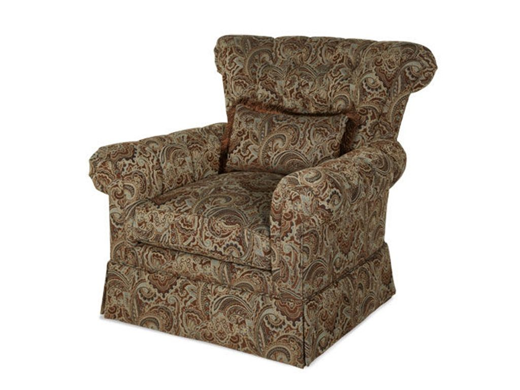 RECEIVED Monte Carlo Swivel Club Chair, #53839-PASLY-00  AMINI  Qty:2