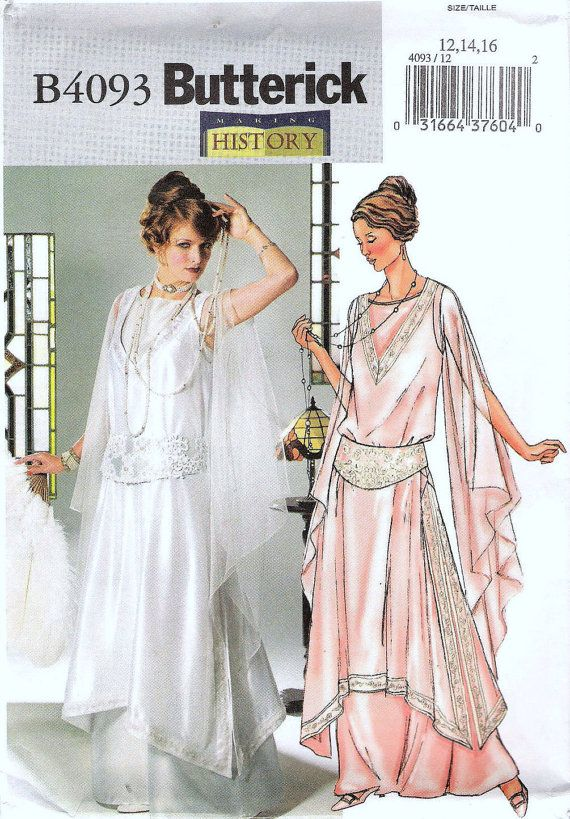 1920s Wedding Gown, Wedding Dress, Evening Gown, Downton Abbey ...