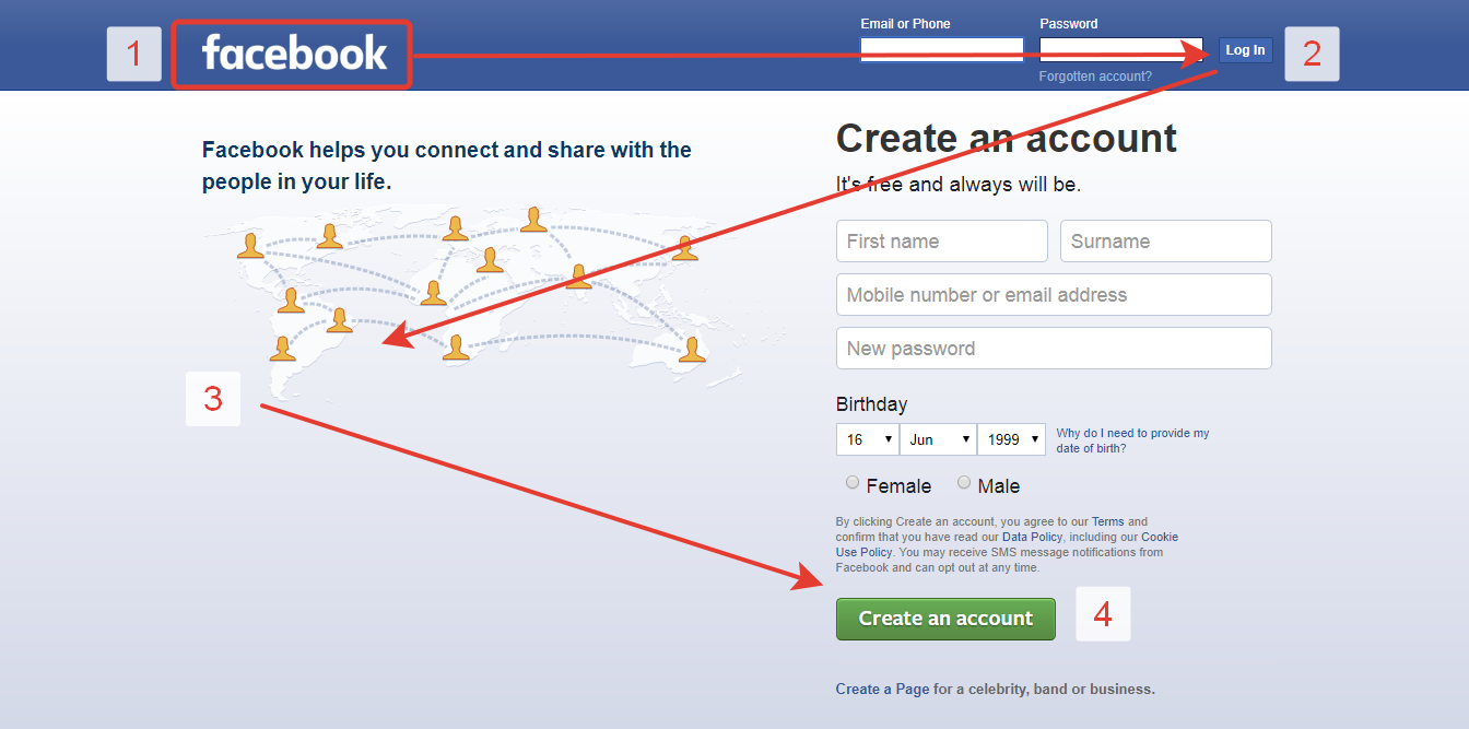 Z Shaped Pattern For Reading Web Content Ux Planet Learn Ux Design Design Theory Facebook Help