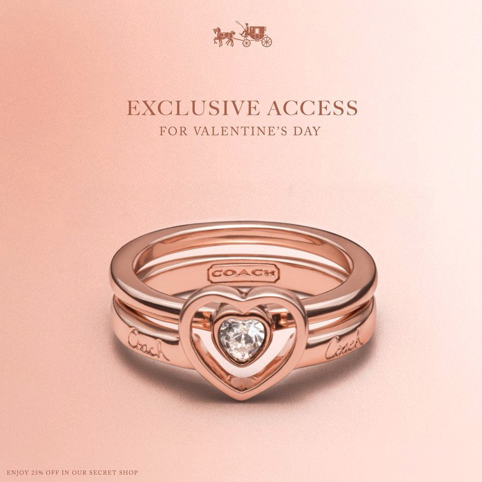 Coach ring | Coach | Pinterest | Ring and Fashion