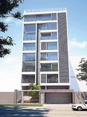Resultado de imagem para fachadas de edificios modernos for Fachadas para departamentos pequenos